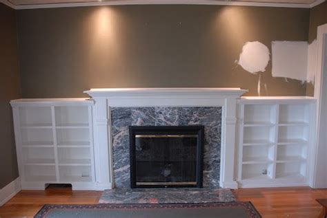 built ins  fireplace home decorating ideas