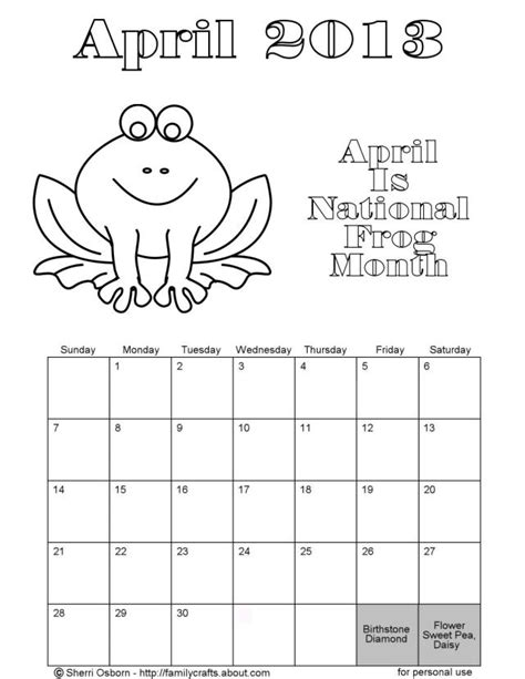 Printable Calendar 2015 To Color | 8 best images of 2015 calendar free printable coloring