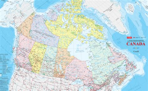 nrcan giant floor map canadian geographic