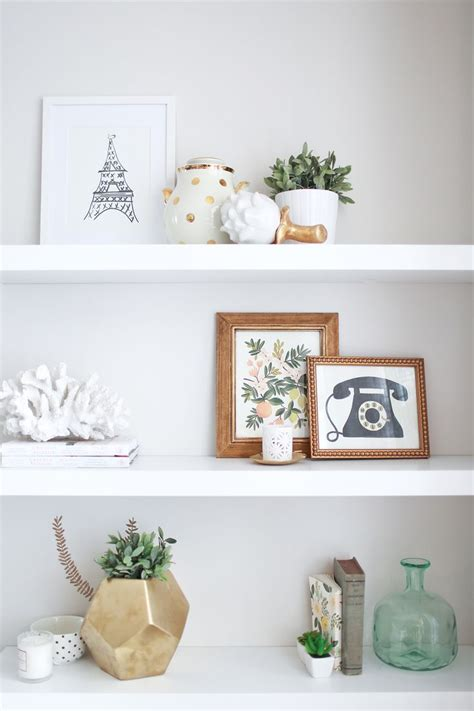 shelf decorations 15 reasons gold will never go out of style inspirational