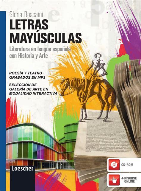 casa editrice loescher letras mayusculas by loescher editore issuu