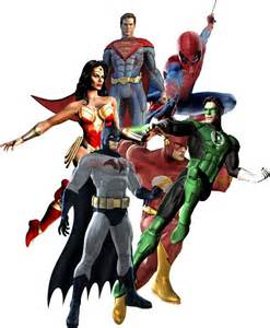 dc heroes decal removable wall sticker home decor