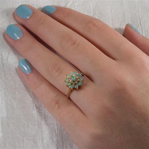 turquoise opal engagement 100 turquoise opal engagement rings sales u2022