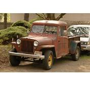 OLD PARKED CARS 1948 Willys Overland Pickup