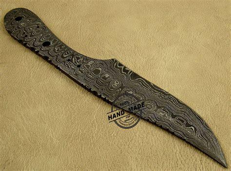 50 knife shop professional damascus blank blade knife custom handmade