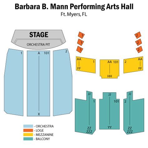 barbara b mann seating capacity barbara mann seating chart brokeasshome