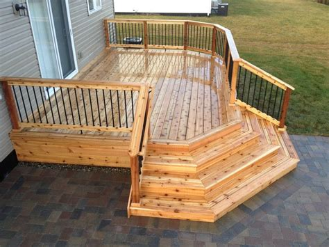 Deck Corner Stairs Design 25 Best Ideas About Deck Steps On Pinterest Deck Stairs Small Decks And Carpentry Contractors