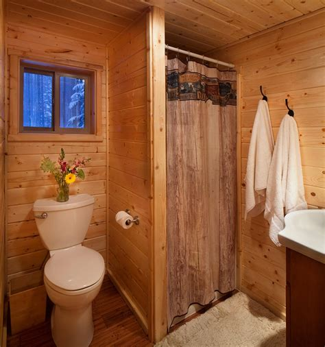 Cabin Bathroom Ideas by Reclusive Moose Cabin Photos Galleries Reclusive Moose