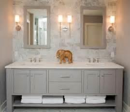 Meuble double vasque 50 id 233 es am 233 nagement salle de bain archzine