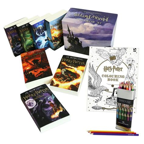 harry potter coloring book the works 25 best ideas about harry potter box set on
