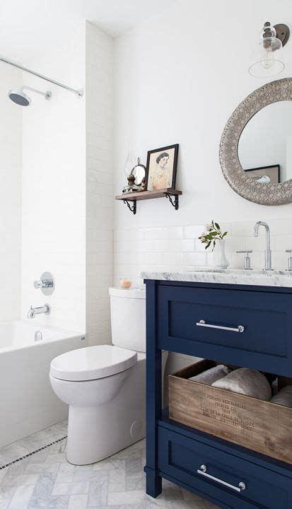be inspired to paint your bathroom vanity a non neutral