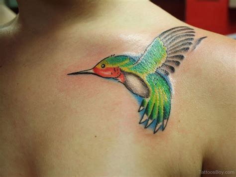 bird tattoos on chest hummingbird tattoos designs pictures page 5