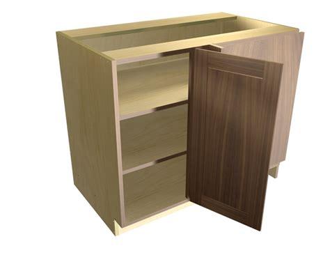 blind kitchen cabinet 1 door blind corner base cabinet hinged right