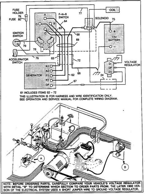 ezgo voltage regulator wiring diagram wiring diagram manual