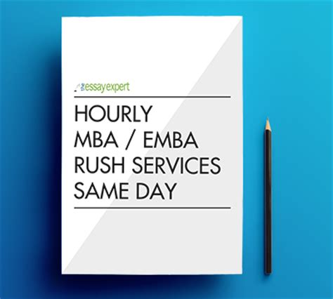 Is An Emba The Same As An Mba by Hourly Mba Emba Services Same Day The Essay Expert
