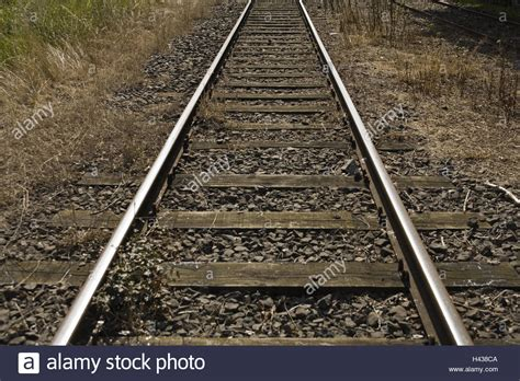 Sleepers Of Railway Track by Tracks Rails Ballast Railway Sleepers Railway Railway