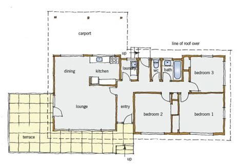 typical house layout 1970s typical building form branz renovate