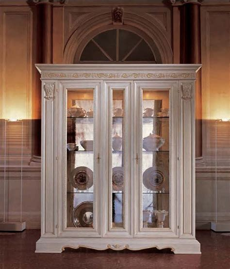White Dining Room Display Cabinets San Marco White Dining Display Cabinet