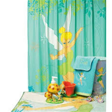 tinkerbell bathroom set kids shower curtains qnud
