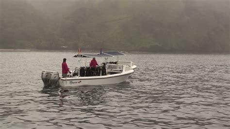 panga boat costa rica panga boat costa rica stock footage video 1543819