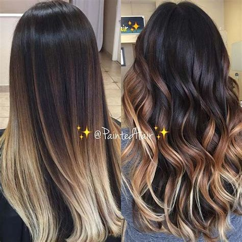 ombre for brunette 21 stylish ombre color ideas for brunettes stayglam