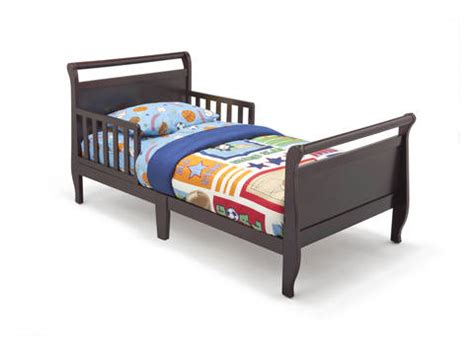 delta childrens bed sleigh toddler bed espresso cherry delta children s