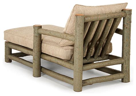 rustic outdoor chaise lounge rustic chaise 1250 by la lune collection rustic