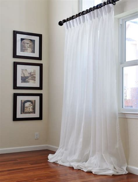 layered sheer curtains signature double layered sheer curtains home design or