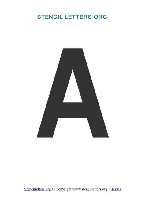 free printable bold letter stencils stencil letters free printable stencil letters fonts