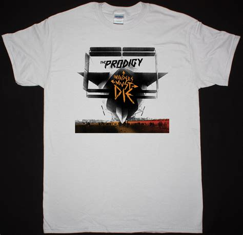 Tshirt Prodigy 2 the prodigy invaders must die best rock t shirts