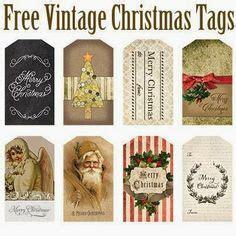 free printable retro christmas gift tags 1000 images about christmas printables on pinterest