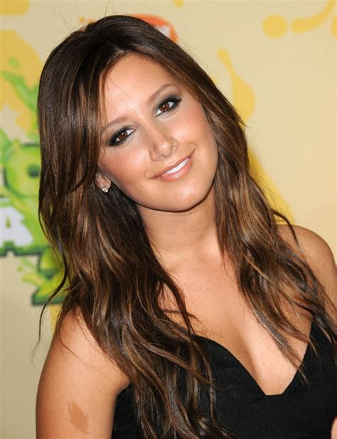 color hairstyles for brunettes ashley tisdale s pretty medium brown hair with golden