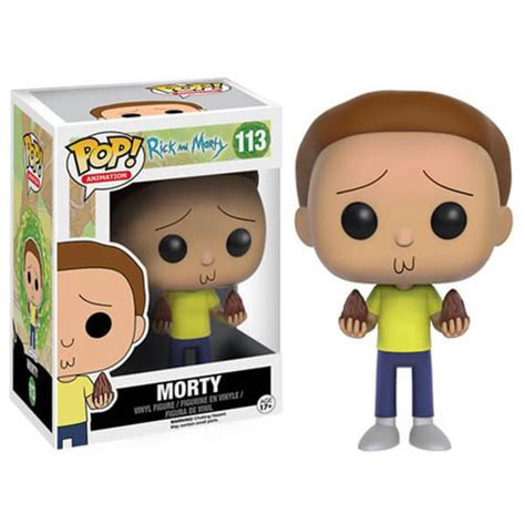 Funko Pop Original Rick And Morty Tinkles With Ghost In A Jar rick and morty morty funko pop figuur merchandise zavvi nl