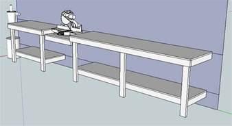 mitre saw bench mitre saw workbench plans free