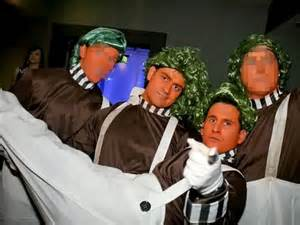 Attack of the oompa loompas orange thugs caught on camera assaulting
