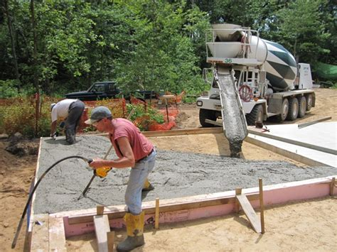 pouring a garage floor slab gurus floor