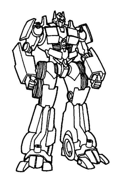 Contoh Gambar Robot Kartun Mewarnai - KataUcap