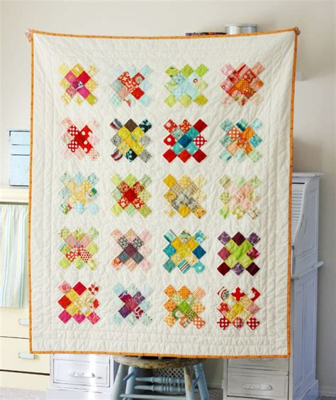 Quilt Tutorials by Blue Elephant Stitches Square Quilt Block Tutorial