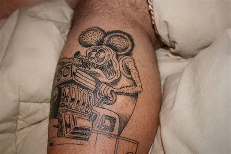 rat fink tattoo rat fink ideas collection