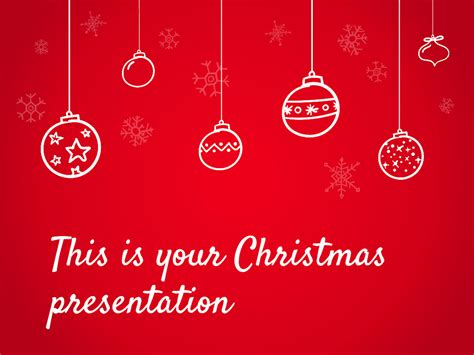 christmas theme google slides free presentation template christmas special