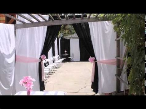 sweet 16 backyard party ideas diy diy backyard sweet 16 sixteen party decoration ideas youtube