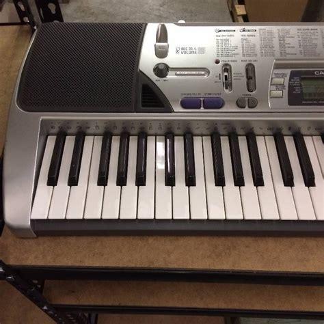 Baru Keyboard Casio Ctk 496 casio ctk 496 100 song bank keyboard foundation warehouse clearout k bid