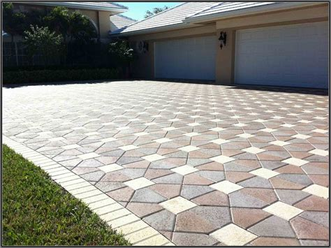 Modern Patio Design With Large Concrete Pavers Driveway Large Concrete Pavers For Patio
