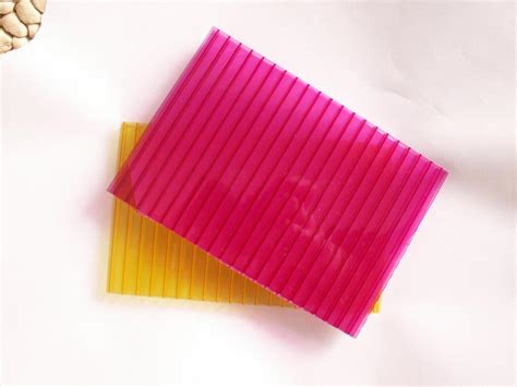 colored polycarbonate sheets china colored frosted polycarbonate hollow sheet jfl 209