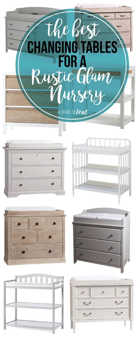 changing tables for nursery the best changing tables for a rustic glam nursery a