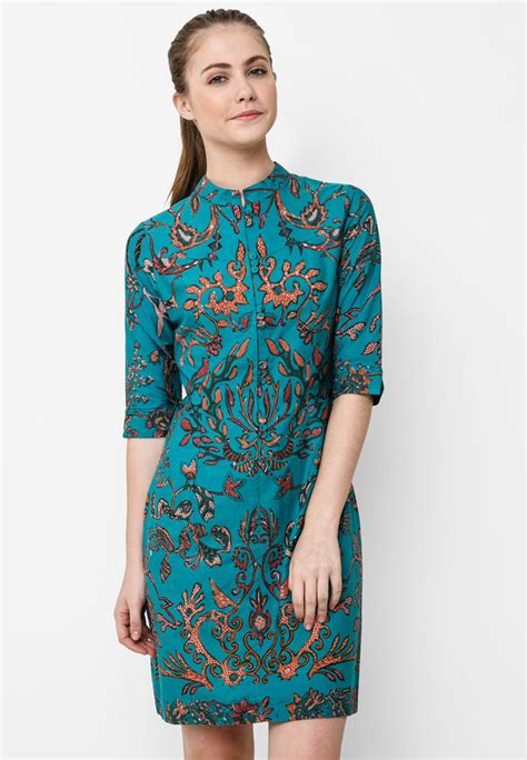 Batik Dress Mini mini dress pleat by batik in blue the fascination