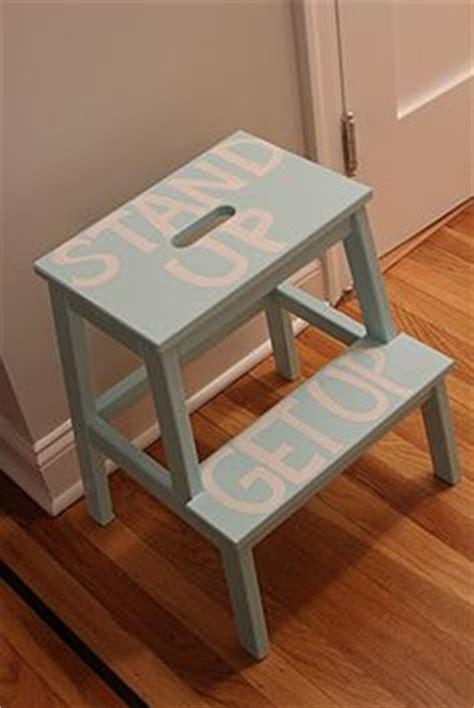 ikea bekvam stool spruced up step stool via dormer chic ikea bekvam 1000 images about ikea step on pinterest step stools