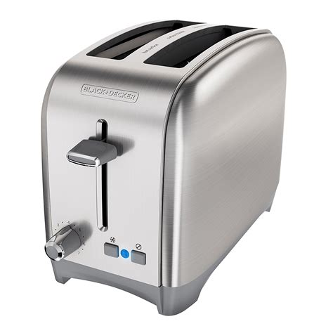Black Decker 2 Slice Toaster black decker 2 slice wide slot toaster classic