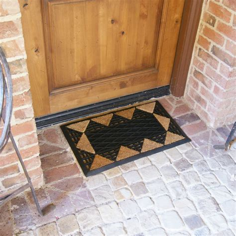 cretian coco rubber entrance mats