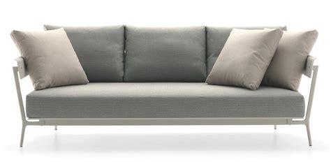 divano con cuscini divano in alluminio con cuscini imbottiti per esterno